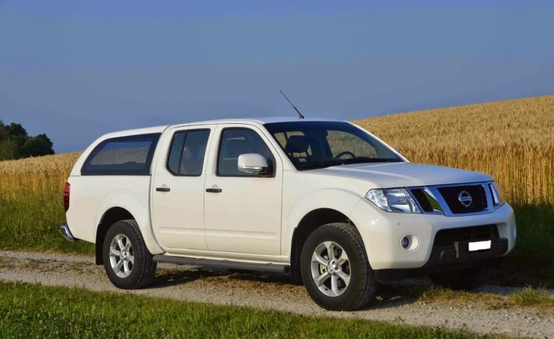 Nissan Navara Long bed Canopy