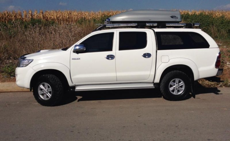 Toyota Hilux Canopy